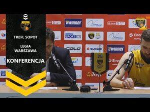 Read more about the article Konferencja po meczu Trefl Sopot – Legia Warszawa   Trefl Sopot