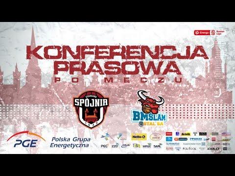 Konferencja prasowa po meczu PGE Spójnia Stargard –  Arged BMSlam Stal Ostrów Wlkp.