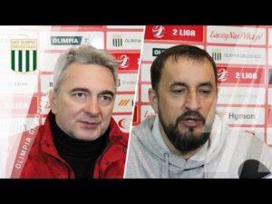Read more about the article Konferencja po meczu Olimpia Grudziądz – Bytovia Bytów 0:0