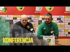 Read more about the article [GKS TV] Konferencja prasowa po meczu z Koroną Kielce