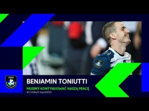 Read more about the article Ben Toniutti: musimy kontynuować naszą pracę