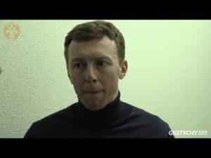 Read more about the article 1/4 Play-Off: Wypowiedź Krzysztofa Majkowskiego po meczu Ciarko STS Sanok – GKS Tychy 1:4