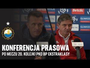 Read more about the article TV Stal: Konferencja prasowa po meczu 20. kolejki PKO BP Ekstraklasy