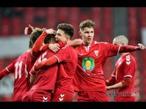 1. kolejka CLJ U-17: Skrót meczu GKS Tychy – WKS Śląsk Wrocław 2:2