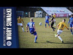 Skrót meczu | Olimpia Elbląg 0:0 (0:0) Wigry Suwałki