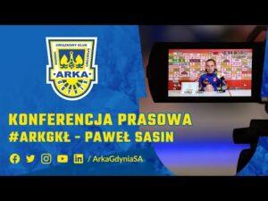 Read more about the article PAWEŁ SASIN. KONFERENCJA PRZED MECZEM #ARKGKŁ