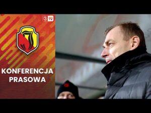 Read more about the article Konferencja prasowa po meczu z Pogonią Szczecin (0:1)