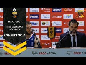 Konferencja po meczu Trefl Sopot – MKS Dąbrowa Górnicza | Trefl Sopot