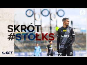 Stomil Olsztyn – ŁKS Łódź 0:2 | SKRÓT MECZU
