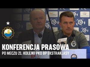 Read more about the article TV Stal: Konferencja prasowa po meczu 21. kolejki PKO BP Ekstraklasy