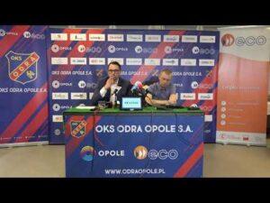 Read more about the article Konferencja prasowa klubu na temat zmiany I trenera Odry Opole