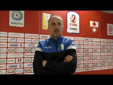 KONFERENCJA: Olimpia Elbląg 0:1 Bytovia Bytów | 22. kolejka, eWinner 2. Liga