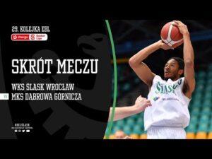 #29 SKRÓT: WKS Śląsk Wrocław – MKS Dąbrowa Górnicza 71:82