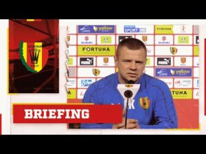 Briefing prasowy przed meczem z Górnikiem Łęczna – trener Kamil Kuzera