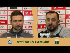Konferencja pomeczowa Olimpia Grudziądz – Stal Rzeszów