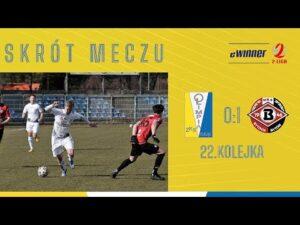 SKRÓT: Olimpia Elbląg 0:1 Bytovia Bytów | 22. kolejka, eWinner 2. Liga