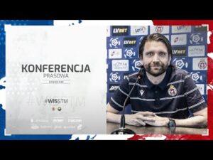 Konferencja prasowa przed meczem ze Stalą Mielec (19.03.2021)
