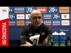 Read more about the article Trener Michał Probierz po meczu z Piastem Gliwice (19.03.2021)