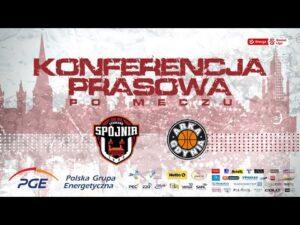 Read more about the article Konferencja prasowa po meczu PGE Spójnia Stargard –  Arka Gdynia