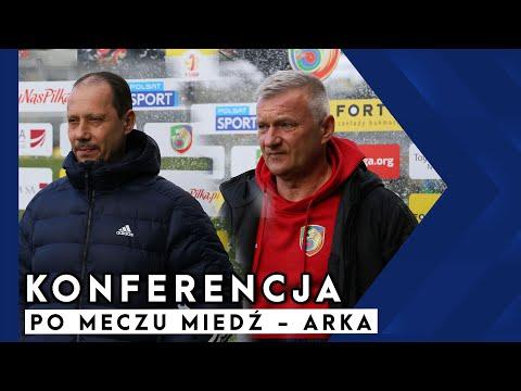 [MIEDŻ TV] Konferencja prasowa po meczu Miedź- Arka