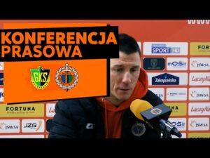 Konferencja prasowa po meczu GKS Jastrzębie – Chrobry Głogów