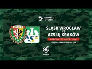 Read more about the article 14. kolejka Ekstraligi | Śląsk Wrocław – AZS UJ Kraków
