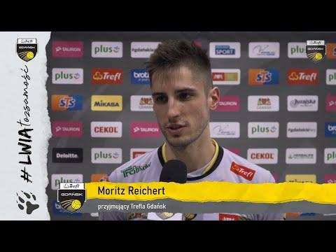 Moritz Reichert po zwycięstwie z warszawianami w pierwszym ćwierćfinale | Trefl Gdańsk