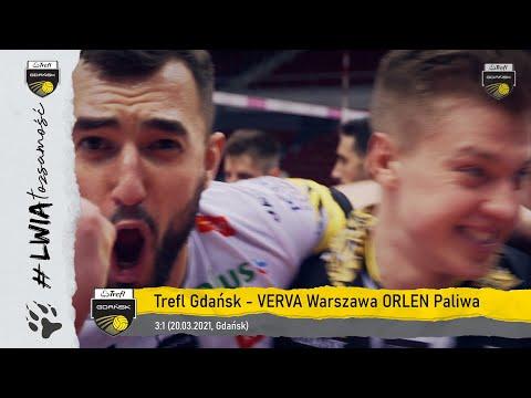 PLAY ON! Zwycięstwo 3:1 #gdańskichlwów w pierwszym ćwierćfinale mistrzostw Polski | Trefl Gdańsk