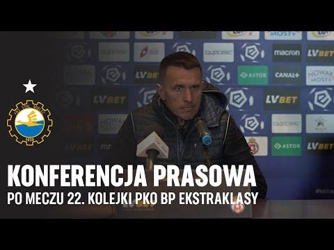 TV Stal: Konferencja prasowa po meczu 22. kolejki PKO BP Ekstraklasy