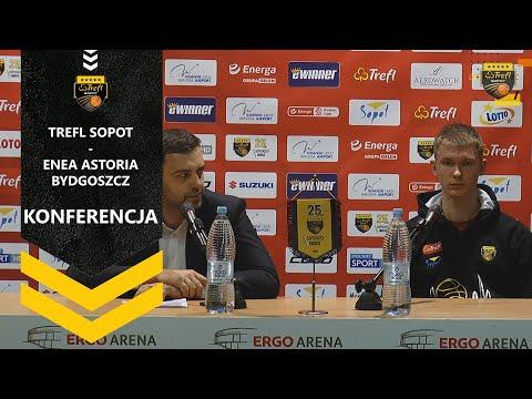 Konferencja po meczu Trefl Sopot – Enea Astoria Bydgoszcz | Trefl Sopot