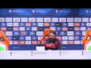 Read more about the article Konferencja prasowa po meczu KGHM Zagłębie Lubin – Legia Warszawa