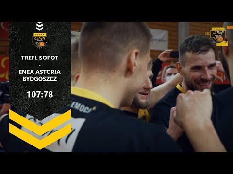 Pewny triumf na koniec rundy zasadniczej! Trefl Sopot – Enea Astoria Bydgoszcz 107:78 | Trefl Sopot