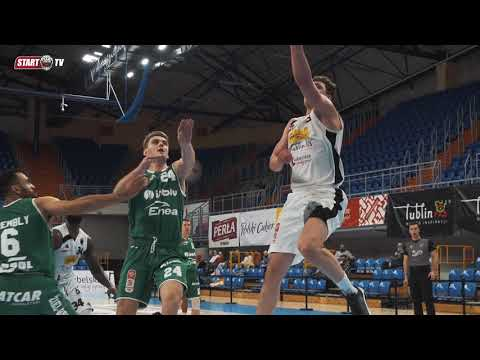 Skrót meczu Pszczółka Start Lublin – Enea Zastal BC Zielona Góra | 20.03.2021 | Energa Basket Liga