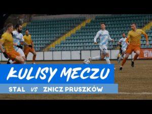 Kulisy meczu Stal Rzeszów – Znicz Pruszków (21.03.2021)