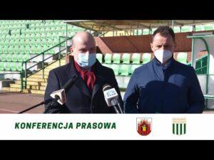 Read more about the article Konferencja prasowa na temat sprzedaży akcji Olimpii Grudziądz S.A.