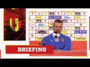 Trener Kamil Kuzera przed meczem z Miedzią Legnica