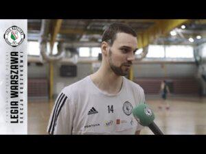 Raport z treningu: Przed meczem z Kingiem | Legia Warszawa Koszykówka