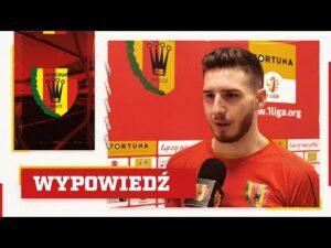 Read more about the article Jakub Łukowski po meczu z Miedzią Legnica