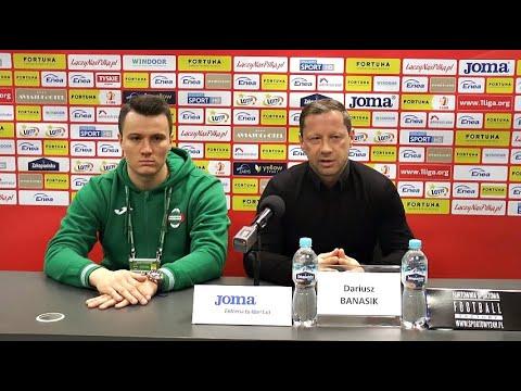 Konferencja prasowa po meczu Radomiak Radom – Górnik Łęczna 3:0 [RADOMIAK.TV]