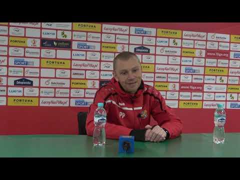 Konferencja prasowa po meczu GKS Bełchatów – Odra Opole