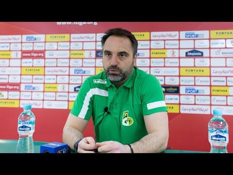 Konferencja prasowa po meczu GKS Bełchatów – Odra Opole 1:1