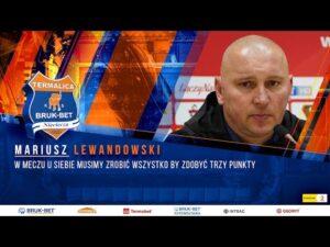 Read more about the article Trener Lewandowski przed meczem z Sandecją