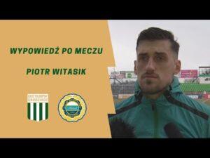 Read more about the article Wypowiedź Piotra Witasika po meczu z Hutnikiem Kraków.