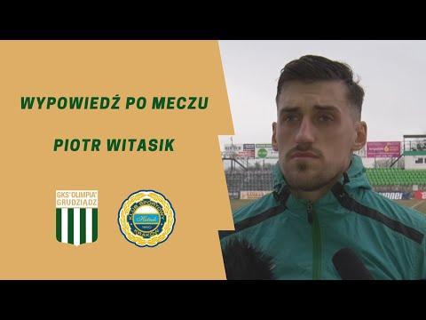 Wypowiedź Piotra Witasika po meczu z Hutnikiem Kraków.