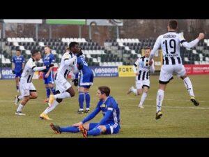 2021-02-27 Sandecja – Miedź Legnica 2-0 (1-0), skrót meczu