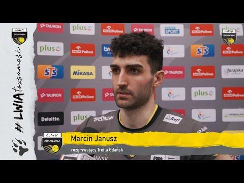 Marcin Janusz po drugim ćwierćfinale z warszawianami | Trefl Gdańsk