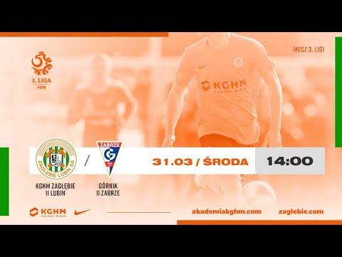 24. kolejka III ligi | KGHM Zagłębie II Lubin – Górnik II Zabrze