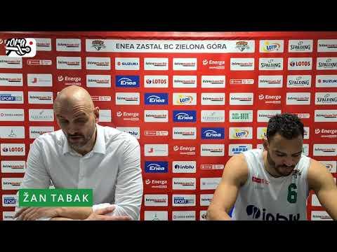 PLAY-OFF | 1/4 | Game 1 | Enea Zastal BC 90:70 PGE Spójnia (konferencja prasowa)