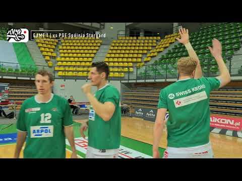 PLAY-OFF | 1/4 | Game 1 | Enea Zastal BC 90:70 PGE Spójnia (skrót meczu)