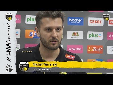 Michał Winiarski po trzecim ćwierćfinale z warszawianami | Trefl Gdańsk